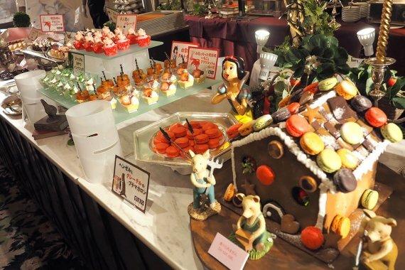 グランドプリンスホテル京都のいちごブッフェが2/1から開催。今年は童話の世界がテーマ