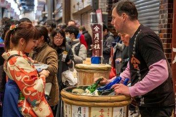 3/7開催、錦のうまいもんと京の日本酒祭り2020
