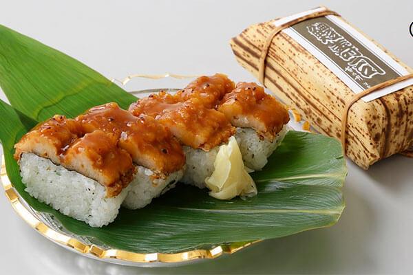 〈菊乃井〉鱧寿司(4切入)1,728円 ※毎週水曜の販売はございません。
