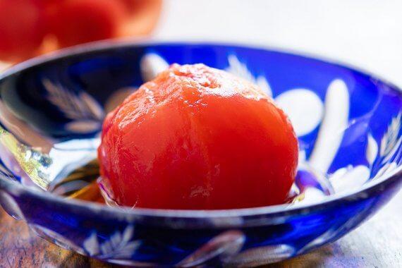 自家製ホールトマト- やさいのごちそう