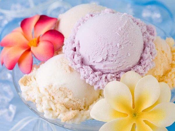 [ブルーシール]紅いもアイスクリーム各種 361円