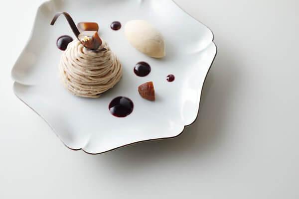 カシスモンブラン キャラメルアイスクリーム