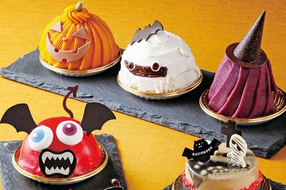 10月は[京都ホテルオークラ]のハロウィンスイーツに注目。今年はテイクアウトケーキも豊富