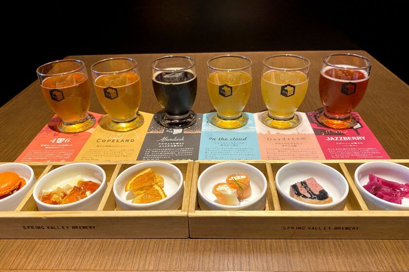 [スプリングバレーブルワリー京都]で3周年記念ビール発売&ペアリングセットも刷新