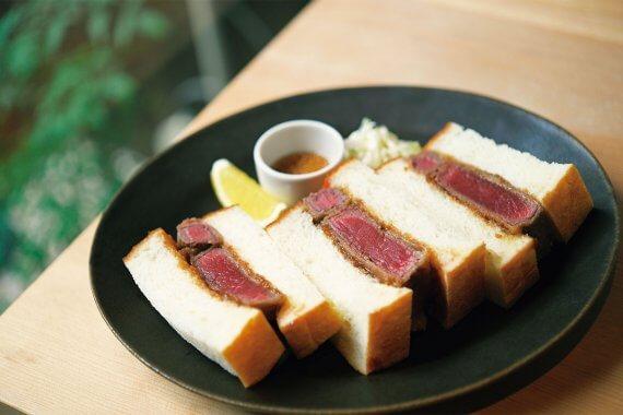 2020.9.4 OPEN[本日の]/肉とパンが溶け合う口福な食感 牛カツサンド