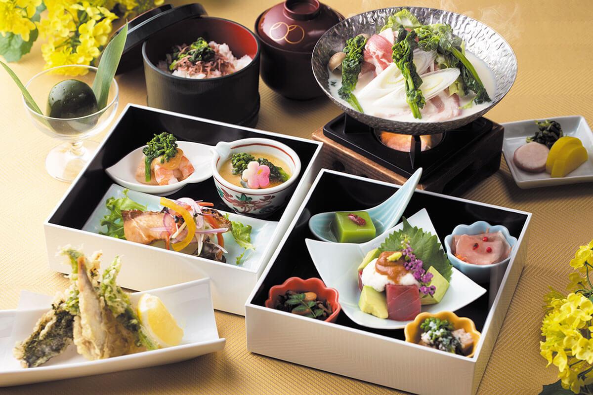 琵琶湖マリオットホテル「NANOHANA Lunch」と菜の花の絶景でひと足早い春の訪れを感じて